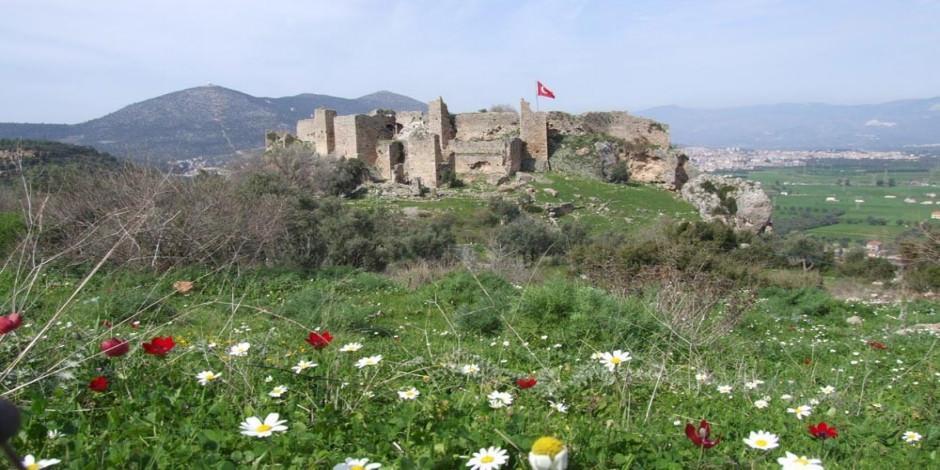 Milas'ın zirvesindeki tarihi adresi: Beçin Kalesi