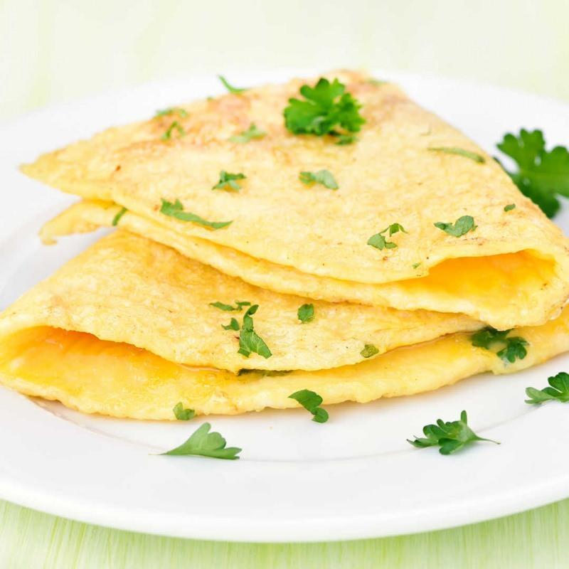 Maydanozlu omlet tarifi