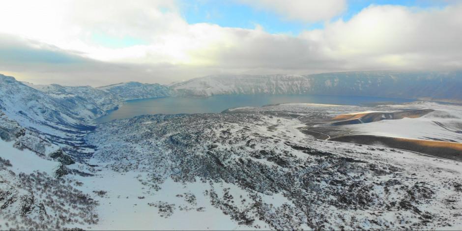 Dünyanın ikinci büyük krater gölü: Nemrut