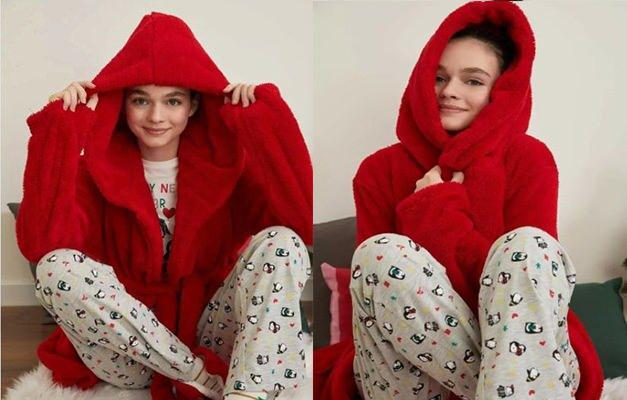 En güzel kadın pijama takımları