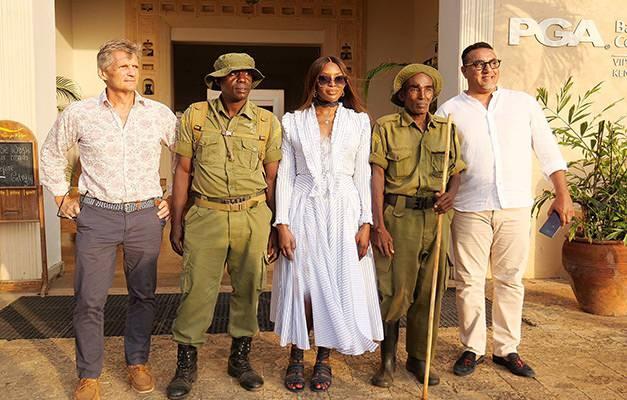 Naomi Campbell turizm elçisi