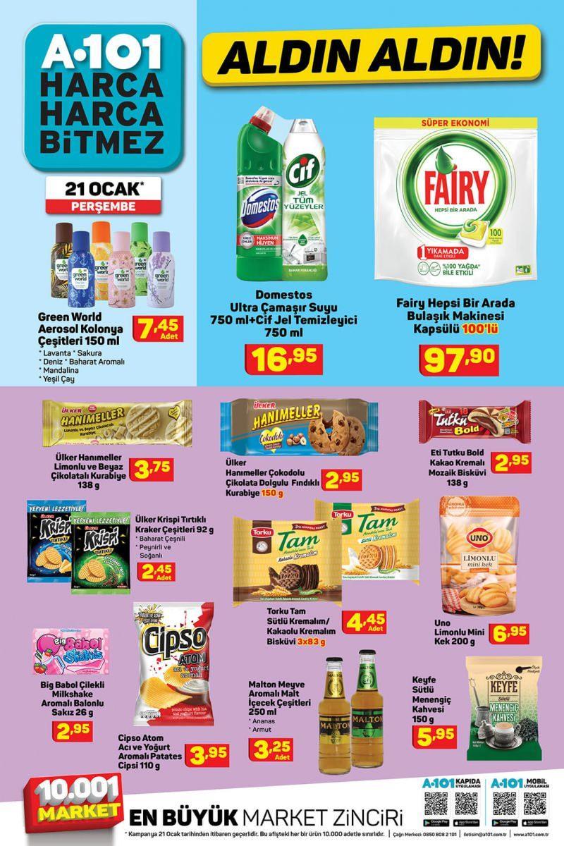 a101 market ürünleri