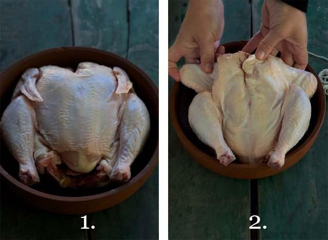 tavuk nasıl bağlanır