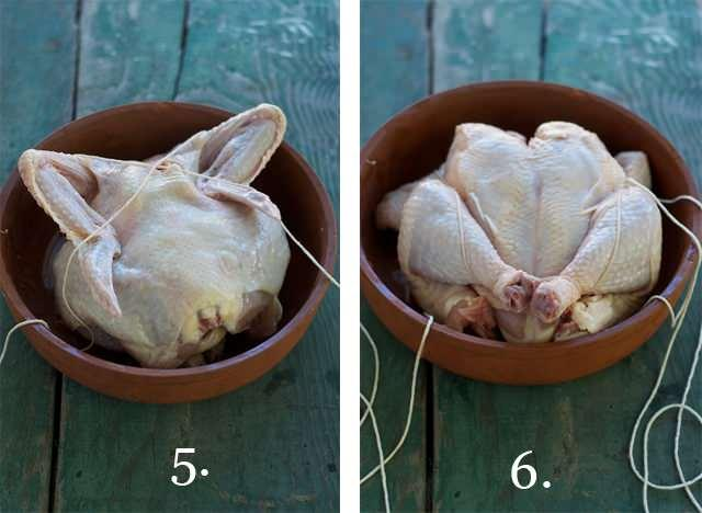 tavuk iple nasıl bağlanır
