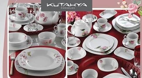 Bim Kutahya Seramik 68 Parca Cift Dekorlu Kare Yemek Takimi Nasil Alinir Mi Dekorasyon Haberleri