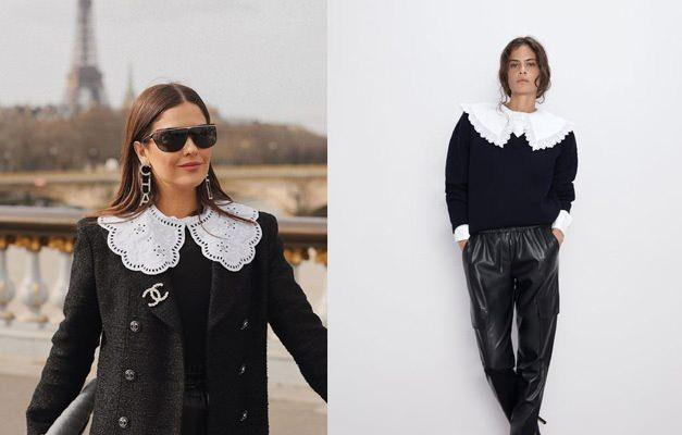 2021'in yeni akımlarından biri olan yaka modelli kıyafetler |En güzel yakalı kombin önerileri