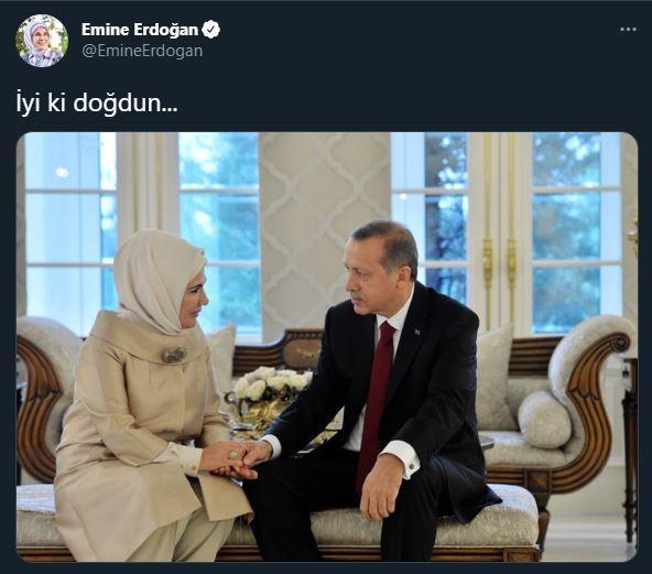 emine erdoğanın doğum günü paylaşımı