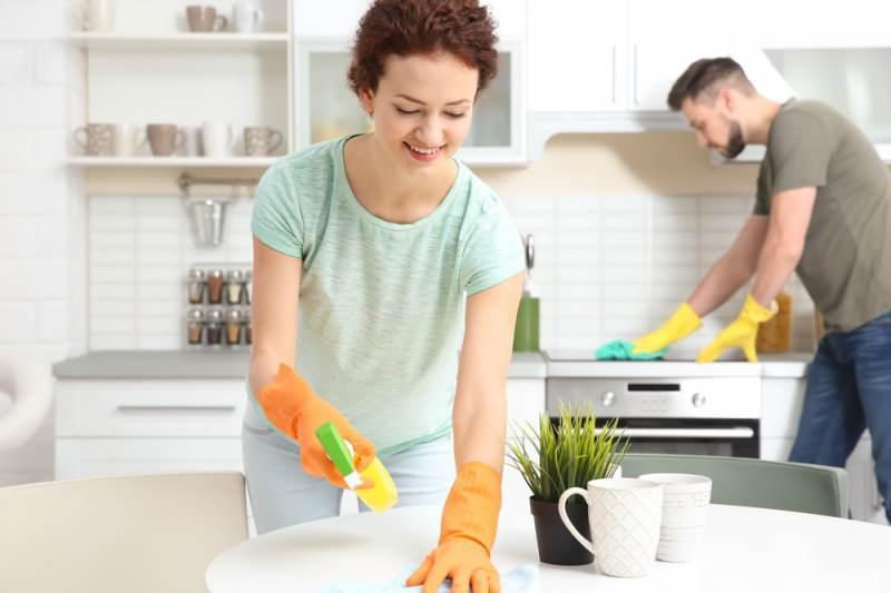 hızlı ve pratik ev temizliği