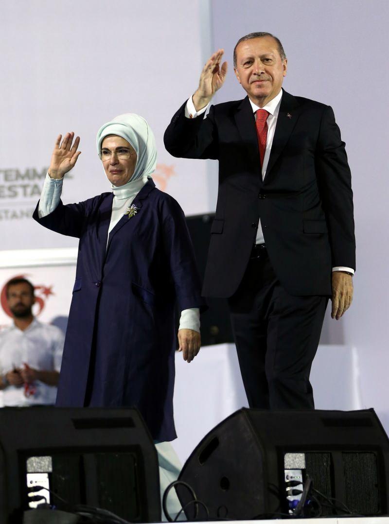 başkan erdoğan ve emine erdoğan