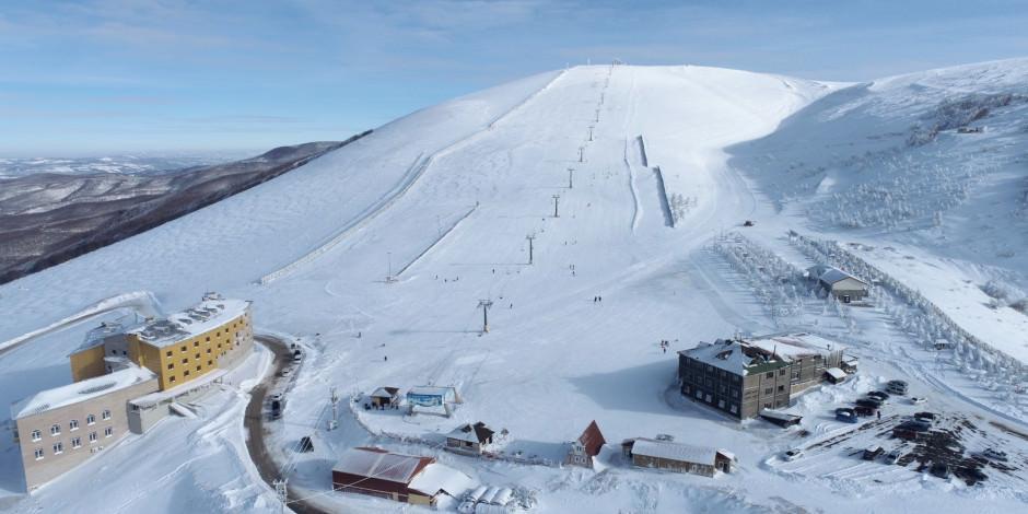 Batı Karadeniz'de kış sporlarının adresi: Ladik Akdağ