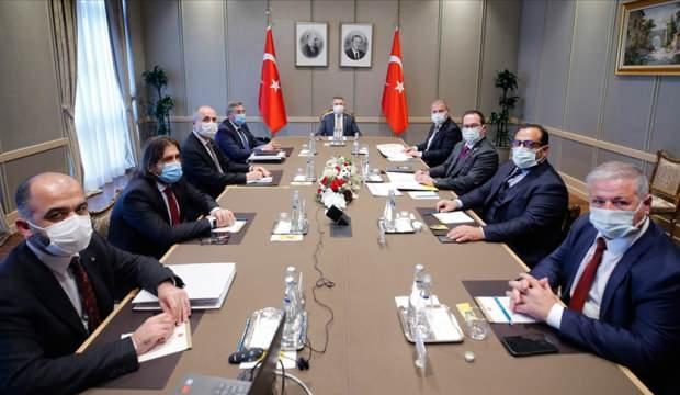 Ο Αντιπρόεδρος Oktay συναντήθηκε με μέλη της Πλατφόρμας Οικονομικών Οργανισμών της ΤΔΒΚ