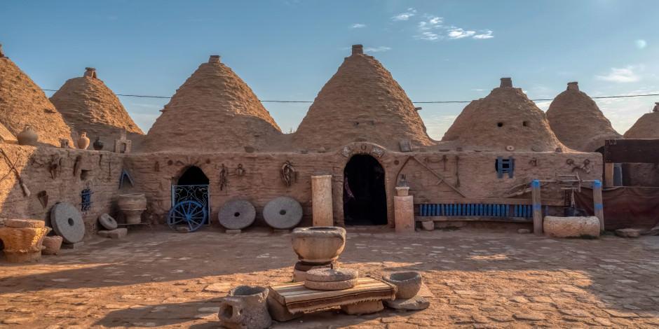 Dünyada 3 yerde bulunuyor: Harran'ın kümbet evleri