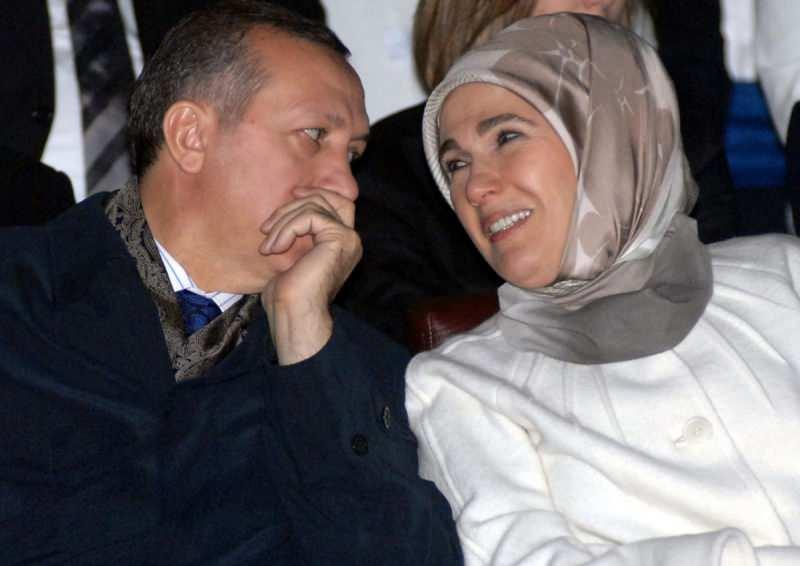 Emine Erdoğan ve eşi Başkan Erdoğan