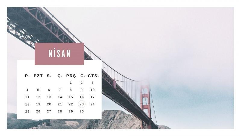 Nisan 2021 resmi tatiller