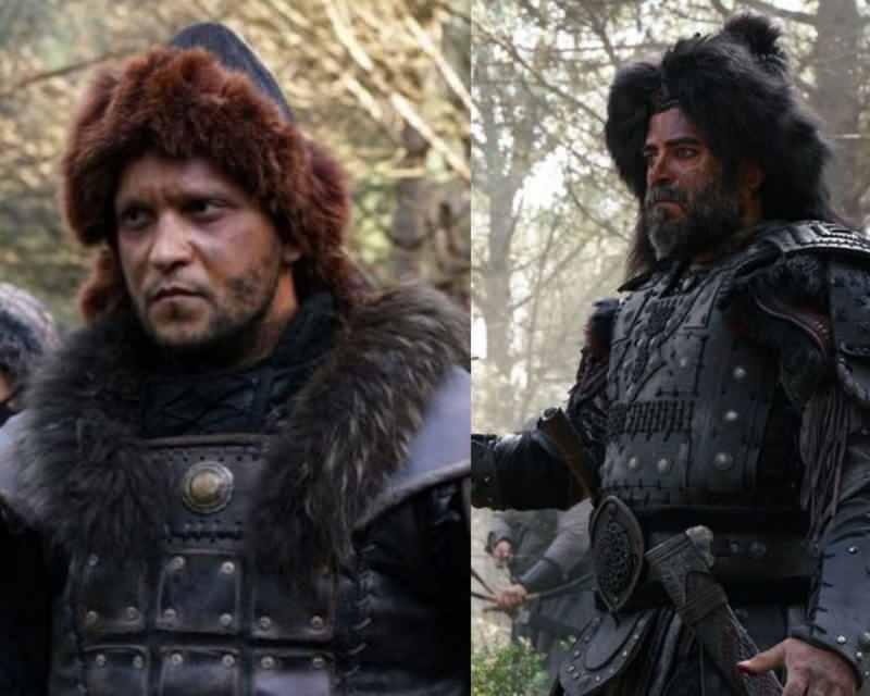 savaşçı böke ve kara şaman togay