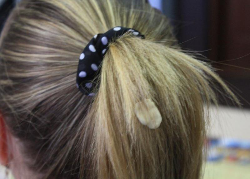 saça yapışan sakız nasıl çıkar
