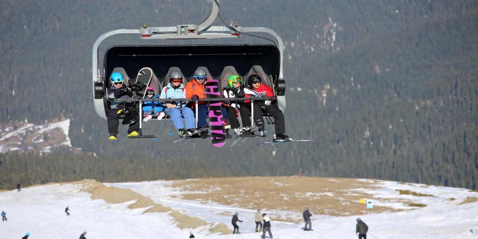 Ilgaz Dağı kayak severleri ağırlamaya devam edecek