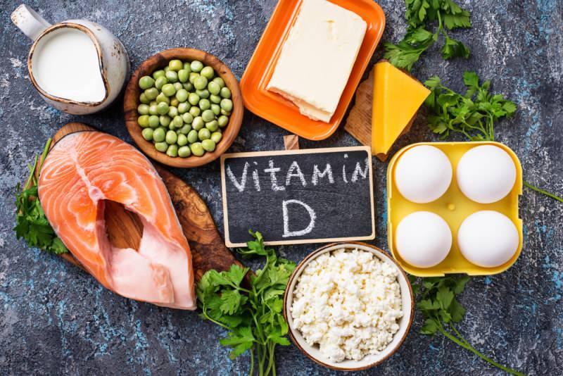 d vitamini bakımından zengin olan besinler
