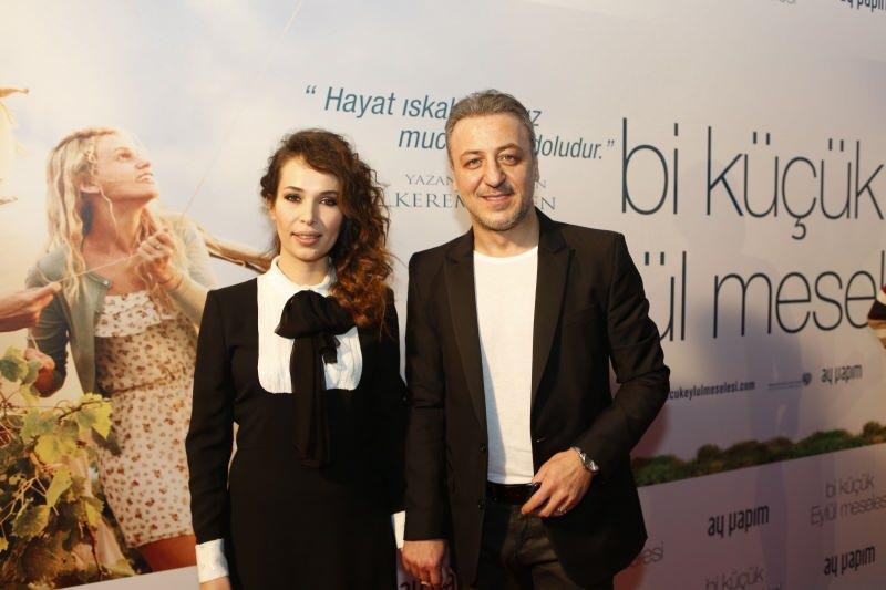 Esra Ronabar ve eşi Barış Falay