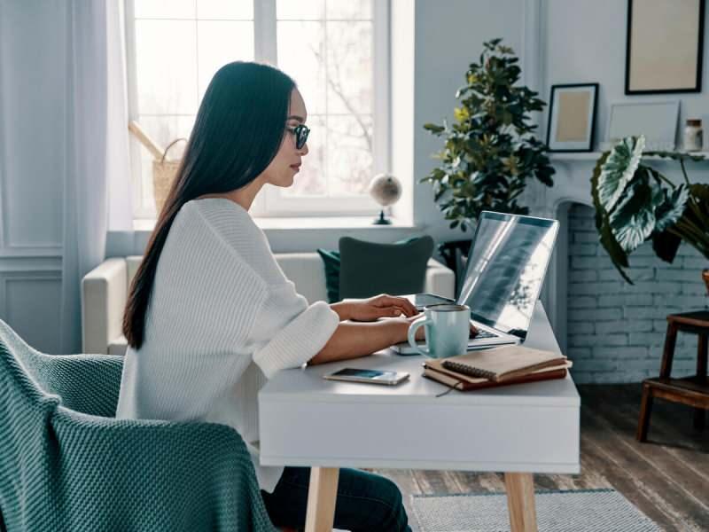 evden çalışma hareketsizliği artırdı