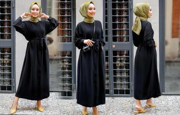 siyah renk elbiseyle uyumlu şal modelleri 2021