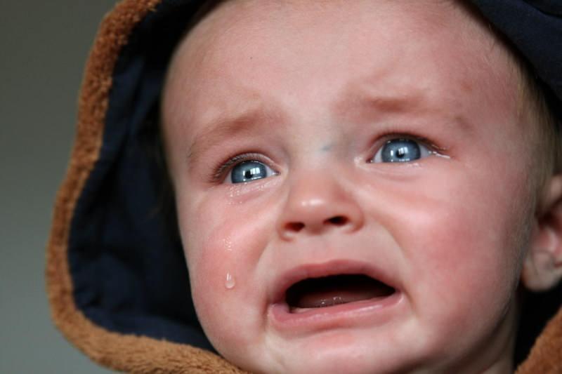 rüyada ağlayan bebek