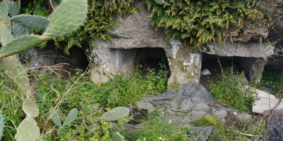 Binlerce yıllık kaya mezarları turizme kazandırmak çalışmalar başladı