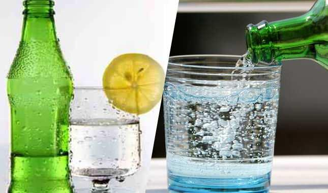 maden suyu ve soda arasındaki farklar