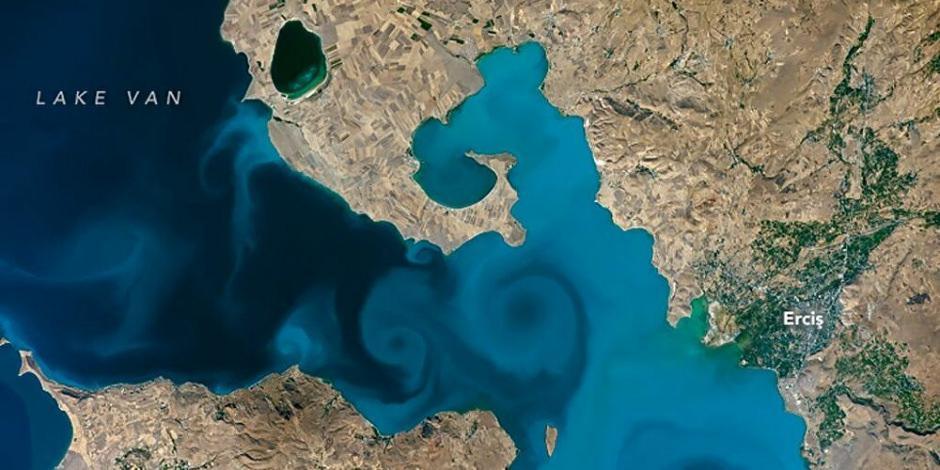 NASA'dan gelen birincilik Van Gölü'nün tanıtımına katkı sundu