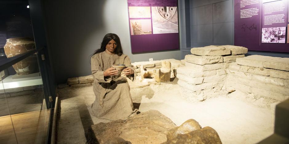 Türkiye'nin en genç müzesi binlerce yıllık eserleriyle geçmişe ışık tutuyor