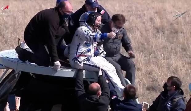 Van Gölü'nün fotoğrafını çeken astronot dünyaya döndü
