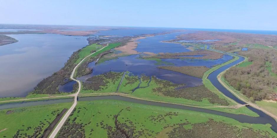 UNESCO listesindeki Kızılırmak Deltası güzelliğiyle büyüledi