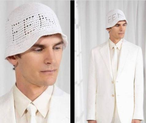 Fendi örgü şapka