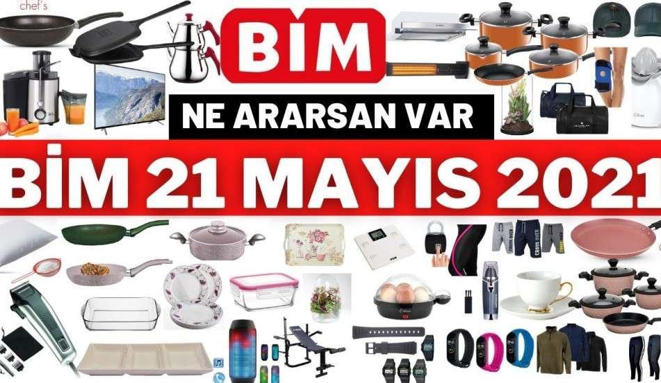 Bim 21 Mayıs 2021 aktüel ürünler kataloğunda neler var? İşte Bim 21 Mayıs 2021 aktüel kataloğu