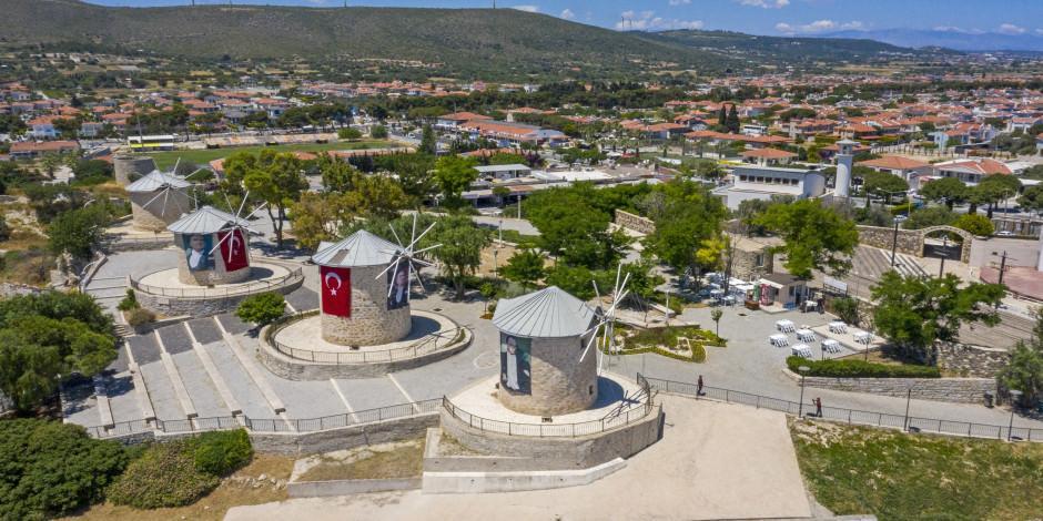 Ege'nin incisi Çeşme'de turizm hareketliliği başladı