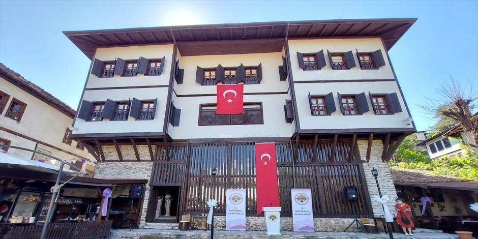Safranbolu'da tarihi konak ziyarete açıldı