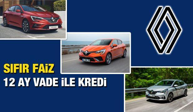 Faizsiz sıfır araç satışı sürüyor! Sıfır faiz ile 2021 Renault Clio, Megane, Taliant kampanyası