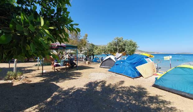 Kamp alanlarında çadır kuracak yer kalmadı