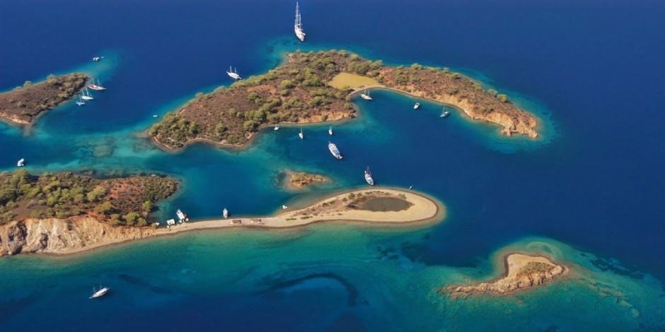 Adını şeklinden alan Yassıca Adaları