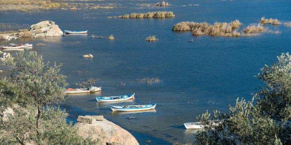 Ege'nin en büyük nazar boncuğu: Bafa Gölü ve çevresi