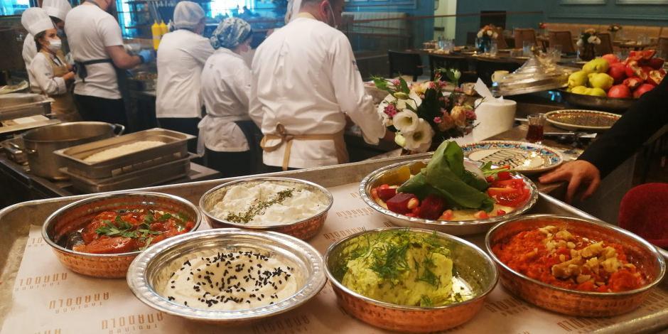 Anadolu'nun leziz yemekleri İstanbul Havalimanı'nda