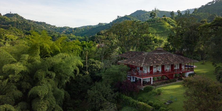 Kolombiya'nın doğa harikası kahve çiftlikleri