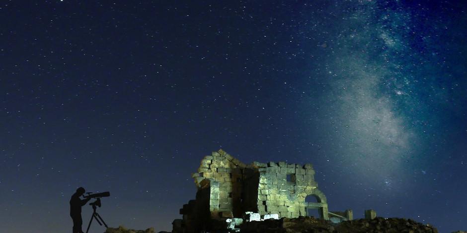 Türkiye'de gökyüzünün en güzel izlendiği kaleye ziyaretçi akını