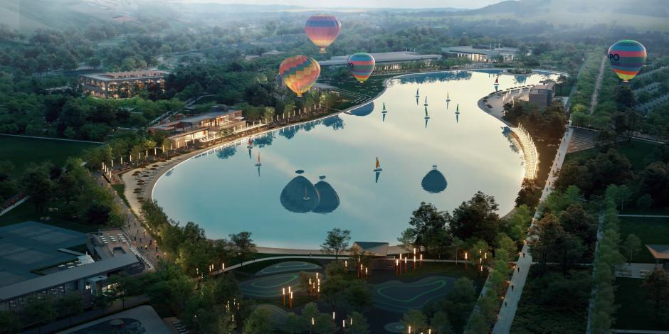 Avrupa'nın en büyük kristal lagün havuzu