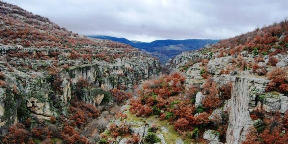 Manisa'nın doğal güzelliği: Yelimere Kanyonları