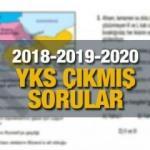 YKS çıkmış sorular | ÖSYM 2020-2019-2018 yılında üniversite sınavında hangi sorular soruldu?