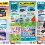 A101 8 Temmuz Aktüel Kataloğu Yayınlandı! Züccaciye, yazıcı, kamp sandalyesi ve tekstil ürünlerinde