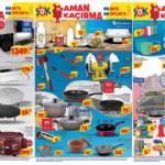 ŞOK 7 Temmuz Aktüel Kataloğu! Derin dondurucu, taş motoru, balta, bıçak ve şekerleme ürünlerinde