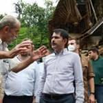 Bakan Kurum: Sel felaketinin yaralarını bir an önce saracağız