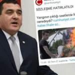 CHP ve Cumhuriyet Gazetesi'nden yangın üzerinden çirkin İHA yalanı